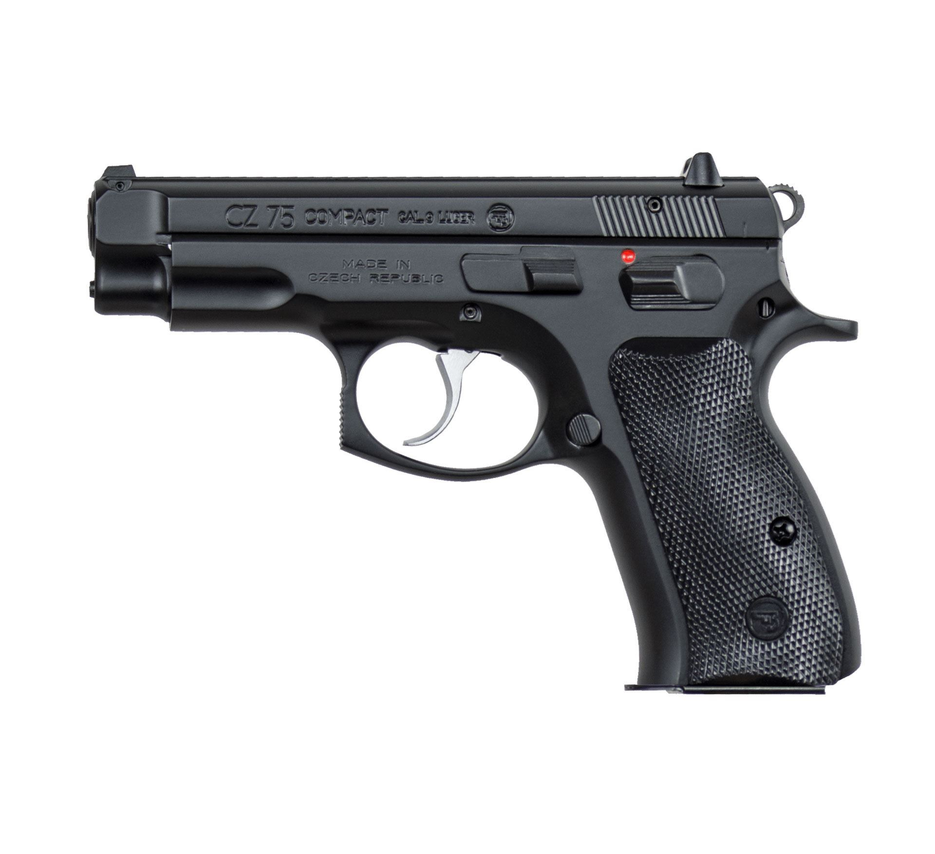 CZ 75 Compact 9 mm (low capacity) Pistol - 01190 - $499 99