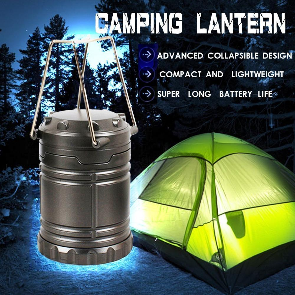Everyday Essentials Ultra Bright LED Collapsible Water Resistant Camping Lant...