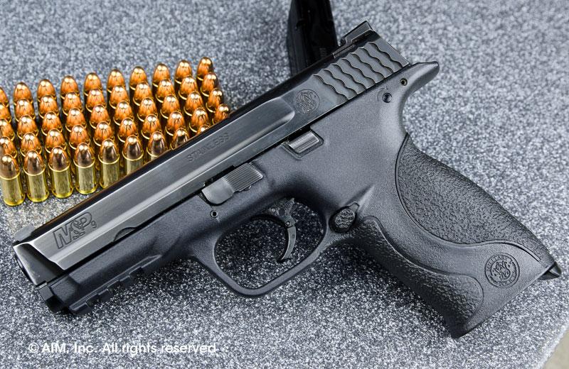 LEO Trade-In Smith & Wesson M&P 9mm Handgun - $319 95