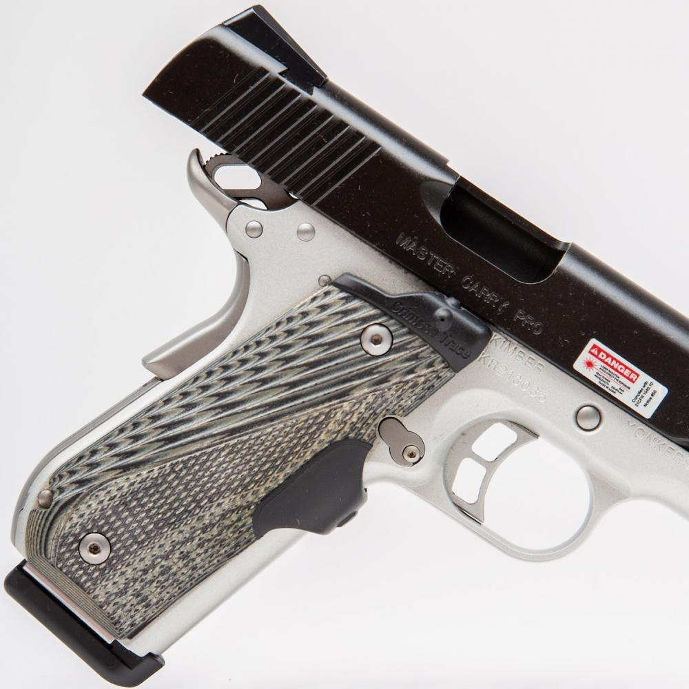 USED Kimber Master Carry PRO 45 ACP 8 Rnd 4
