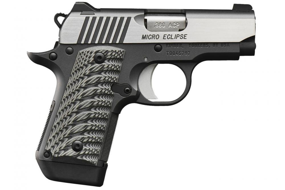 Kimber Micro Eclipse 380 ACP Carry Conceal Pistol with Night Sights -  $529 99 (Free S/H on Firearms)