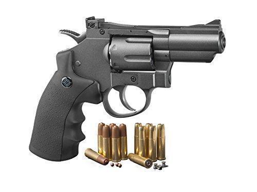 Crosman SNR357 Dual Ammo CO2 Air Gun  177 Caliber 6 Rounds (Black/Grey) -  $44 99 + Free Shipping (Free S/H over $25)