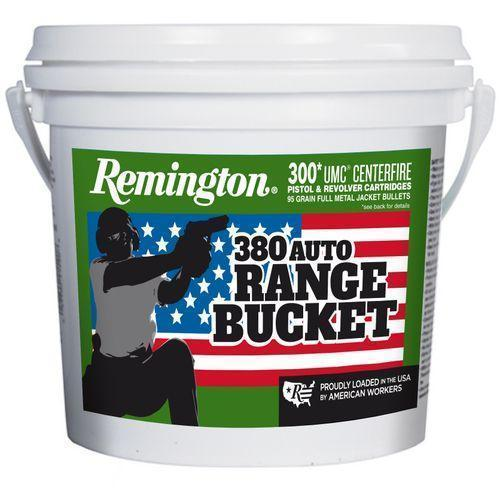 Remington UMC Range Bucket  380 ACP 95-Gr  FMJ 300 Rnds - $69 99 + $5 S/H  w/code