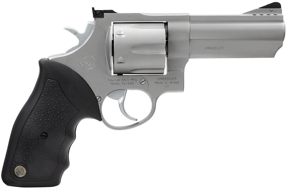 Taurus Model 44 44 Magnum 4″ Barrel, Stainless Finish - $408 50 (Free S/H  on Firearms)