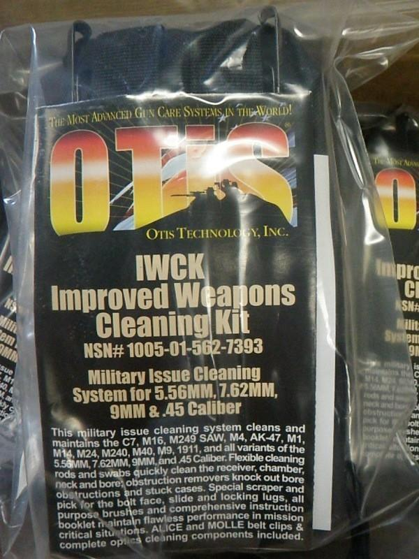 Tactical Deals Otis Improved Weapons Cleaning Kit Iwck