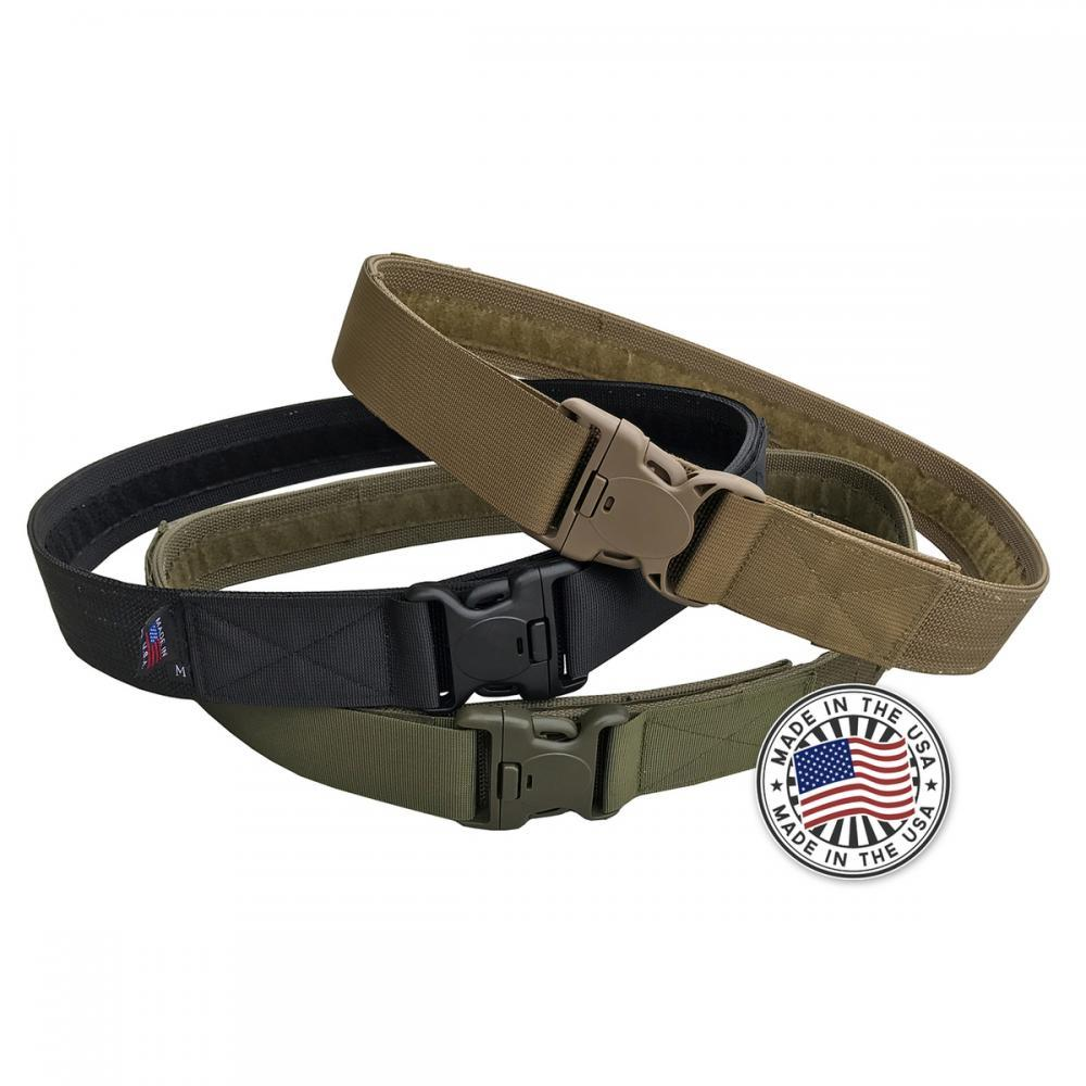 Battle Steel Leather Gun Belts Made In USA