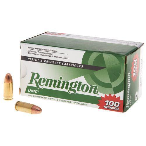 Remington UMC 9mm Luger 115-Grain Centerfire Ammunition 100-round box -  $18 49 (Free S/H over $25)