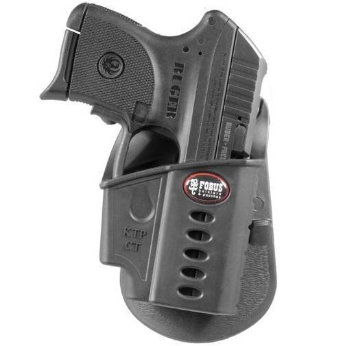 Fobus Ruger LCP KelTec P3At Evolution Paddle Holster, Black, Right - $19 54  (Free S/H over $25)