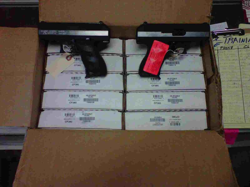 Hi-Point  380 ACP & 9mm Overstock Blowout (from) $ 125 00 while they last  !! $20 00 Shipping - $125