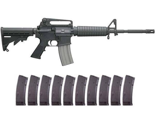 Bushmaster M4 A3 Patrolman's Carbine XM-15 with 10 FREE 30RD MAGS - $782 89