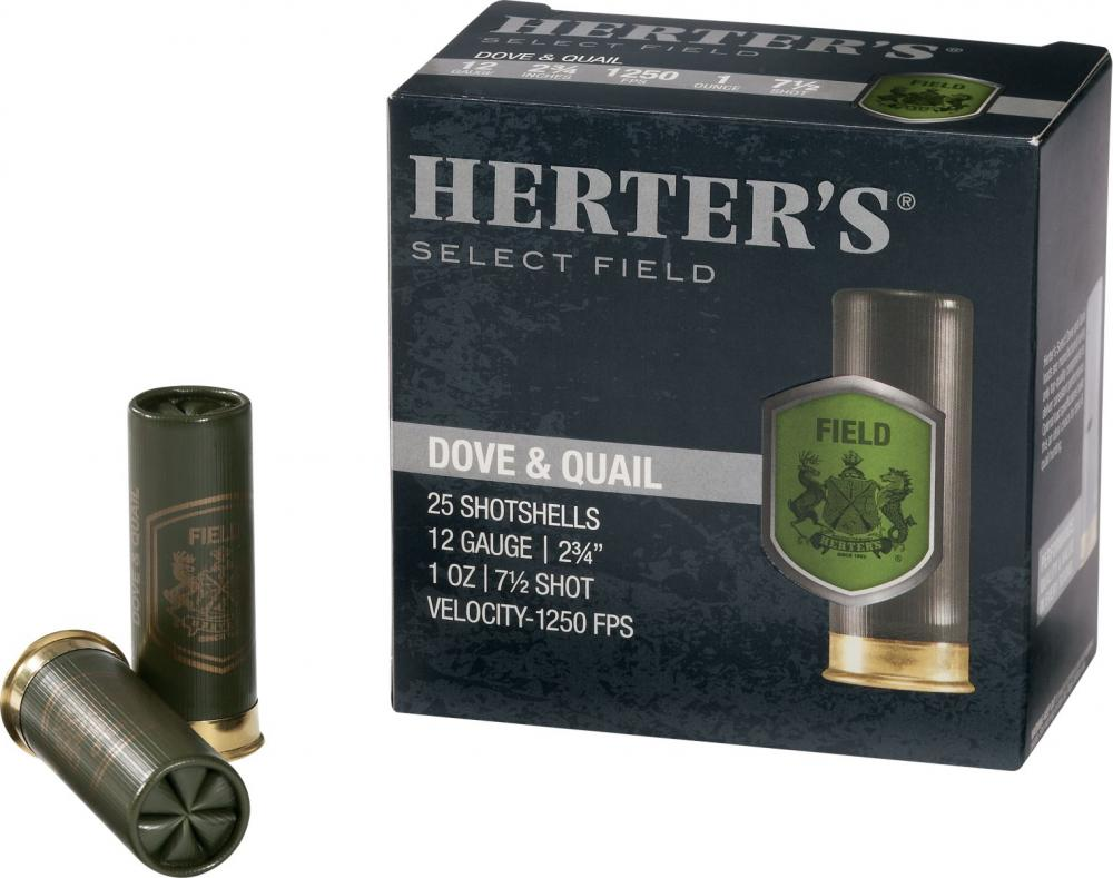 Herter's Select Field Dove and Quail Loads 410 Bore 25 Rnds - $4 88 (Free  2-Day Shipping over $50)
