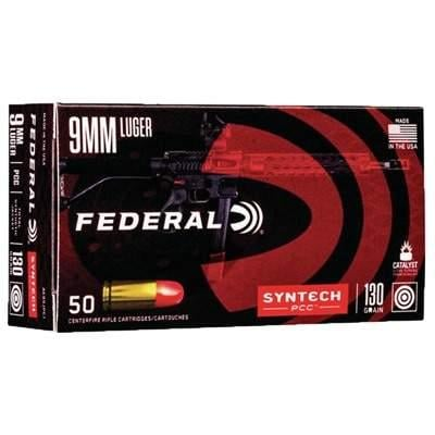 Federal American Eagle Syntech Action PCC 9mm 500 Rnds - $106 99 shipped  w/code