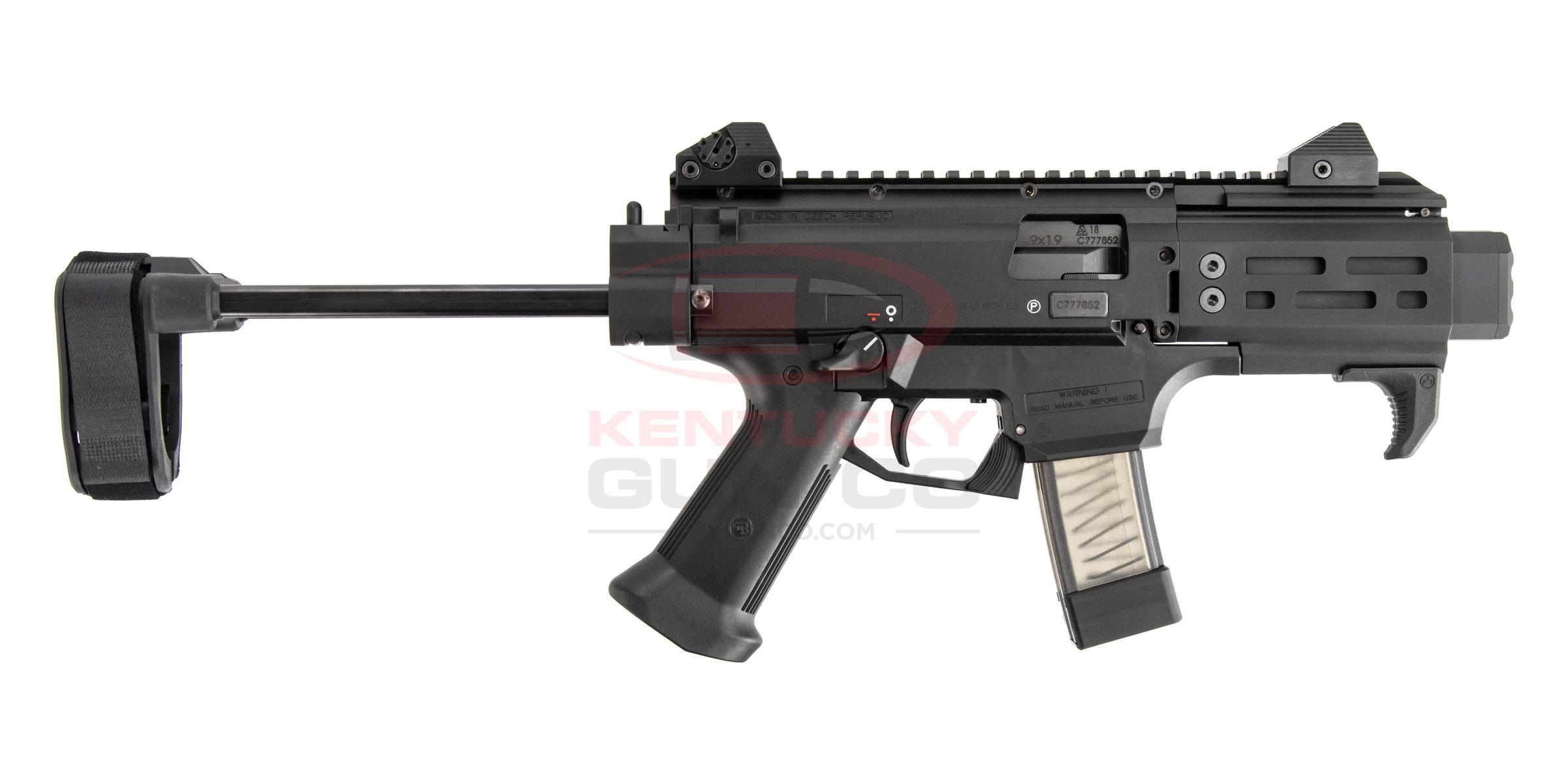 CZ SCORPION EVO 3 S2 PISTOL MICRO W/ BRACE - $1059 99 (Free S/H on Firearms)