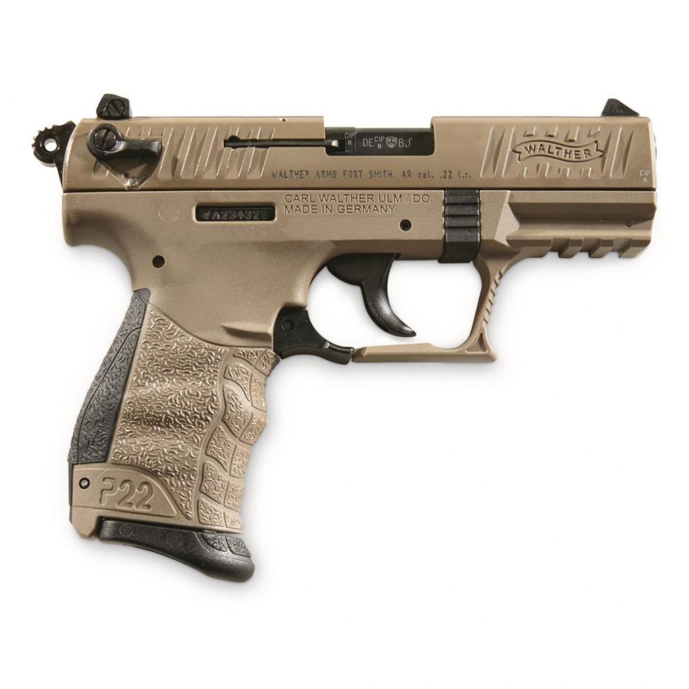 Walther P22-CA FDE  22 LR 3 42