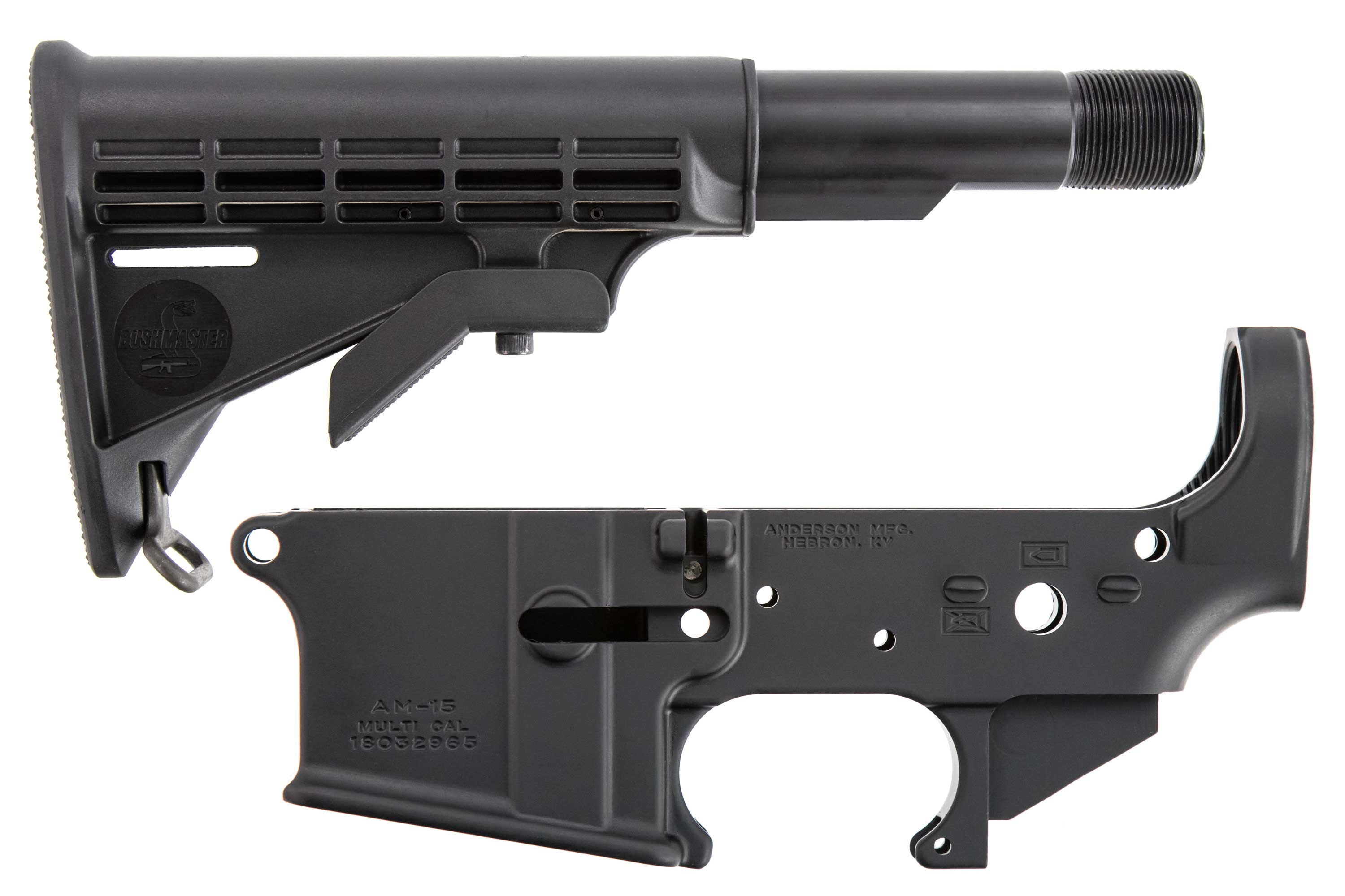 Anderson AM-15 Stripped Lower + Fixed Stock Combo - $49 99 (Free S/H on  Firearms)