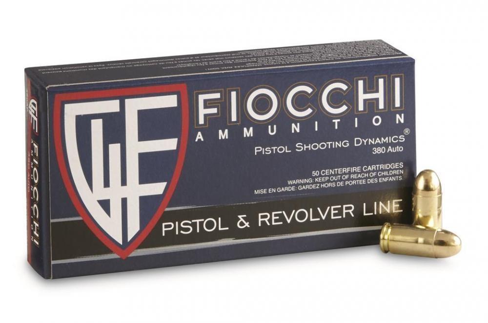 Fiocchi Pistol  380 ACP 95 Grain FMJ Ammo, 500 rounds - $114 94