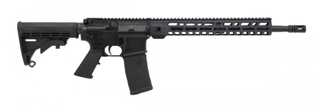 "PSA PA-15 16"" Nitride M4 Carbine 5 56 NATO Classic AR-15 Rifle with 13 5""  M-LOK Rail, Black - $499 99"