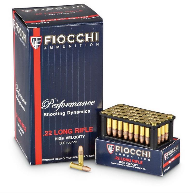 Fiocchi 40-gr  22 LR Copper - plated Special Purpose 500 Rnds - $31 34