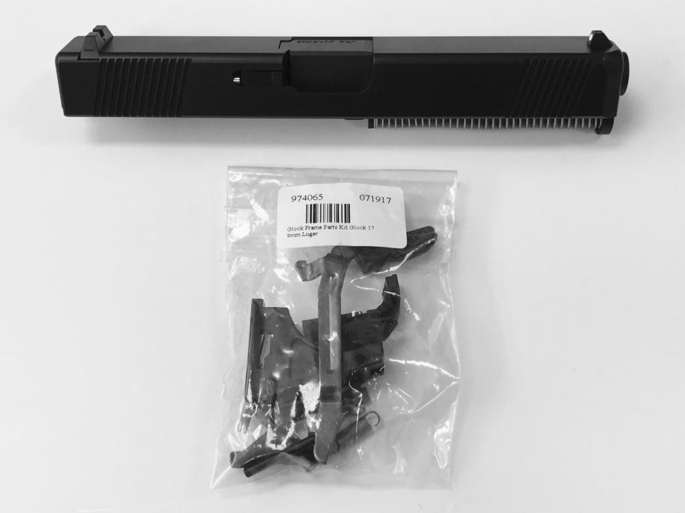 Complete New G17 Upper & Glock Lower Parts Kit - Works With