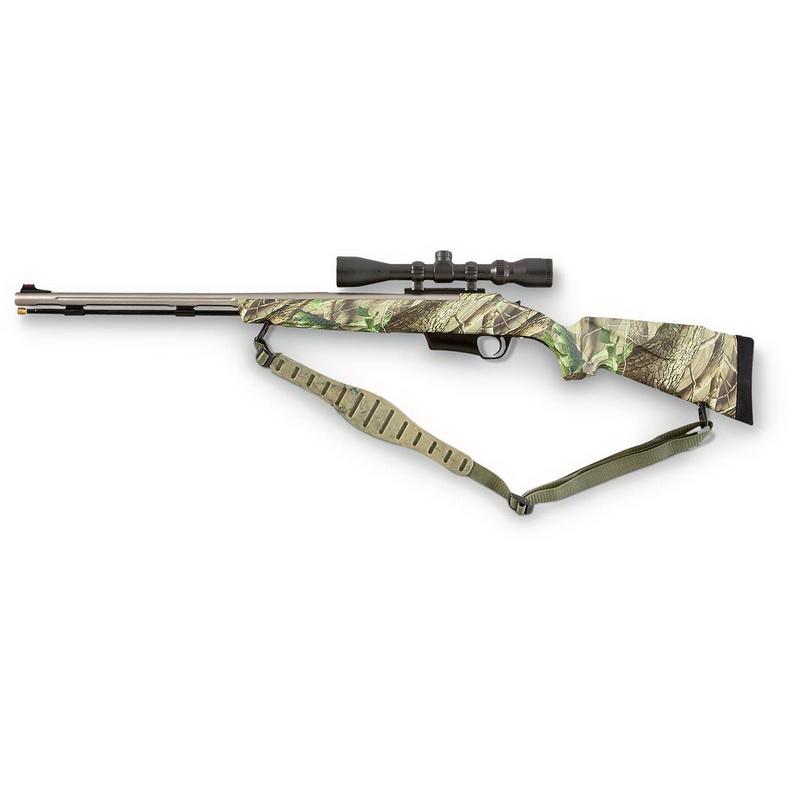 CVA® Electra™  50 cal  Black Powder Rifle, Realtree® HD™ Camo / Stainless -  $188/$209 + Free Shipping