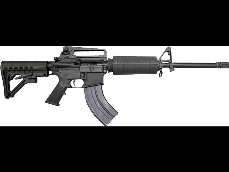 Bear Creek Arsenal AR-15 Rifle 7 62x39 Caliber w/ Carry Handle, A2 Sights,  2 Mags and Hard Case - $469 99