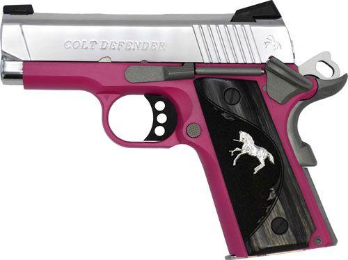 Colt Defender Compact 9mm 3″ Pink Frame Polished SS Slide - $776 95 (Free  S/H on Firearms)
