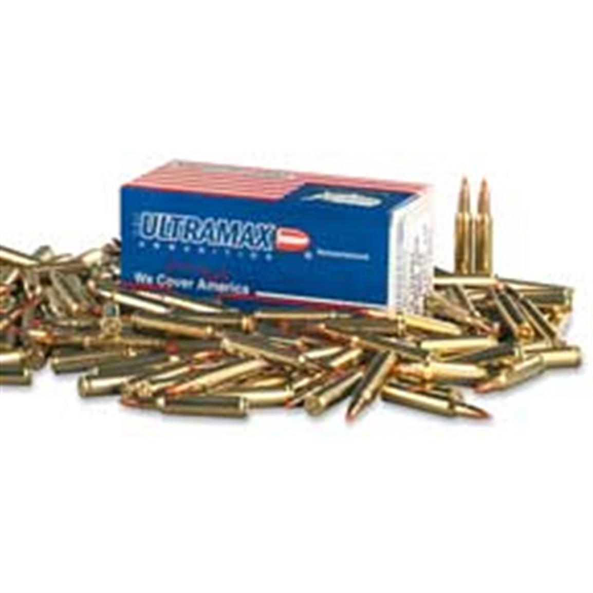 ultramax 223 varmint nbt 55 grain 500 rounds 265 99