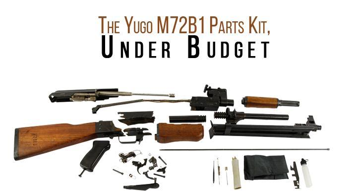 The Yugo M72B1 Parts Kit - Buy 2 or more of the same item at $209 95 ea