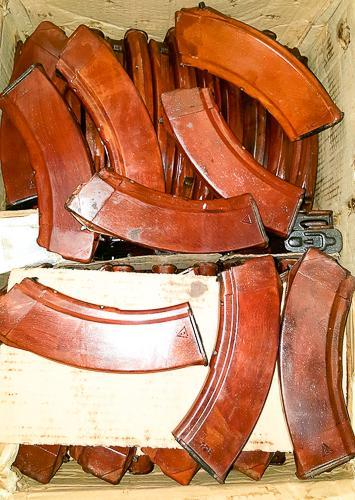 Best selection of Russian military AK magazines Bakelite