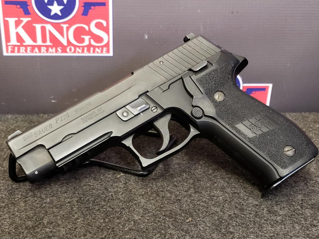 Police trade-in Sig Sauer P226R  40 S&W - $359 99