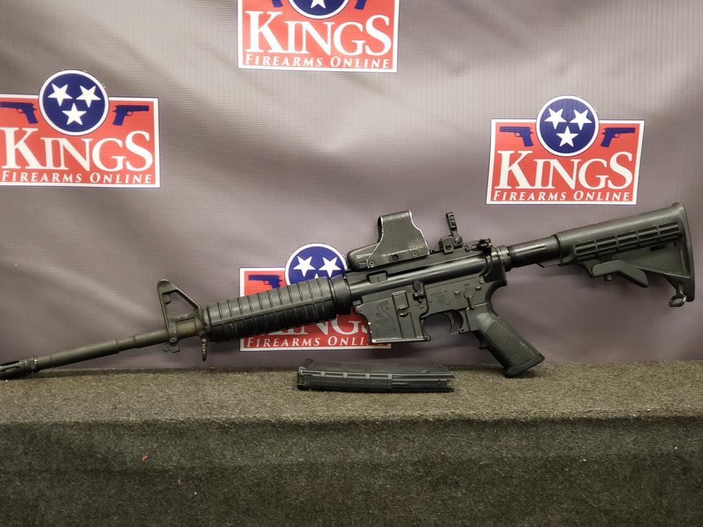 Kings Online -Police Trade In Bushmaster XM15-E2S 5 56mm w/ EoTech 511-  $599 99