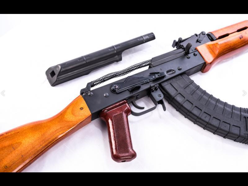 Ak 47 Semi Auto Rifle Riley Defense 7 62x39 Polish Style Wood