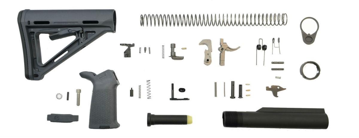 PSA MOE EPT Lower Build Kit, Gray - 5165449541 - $109 99