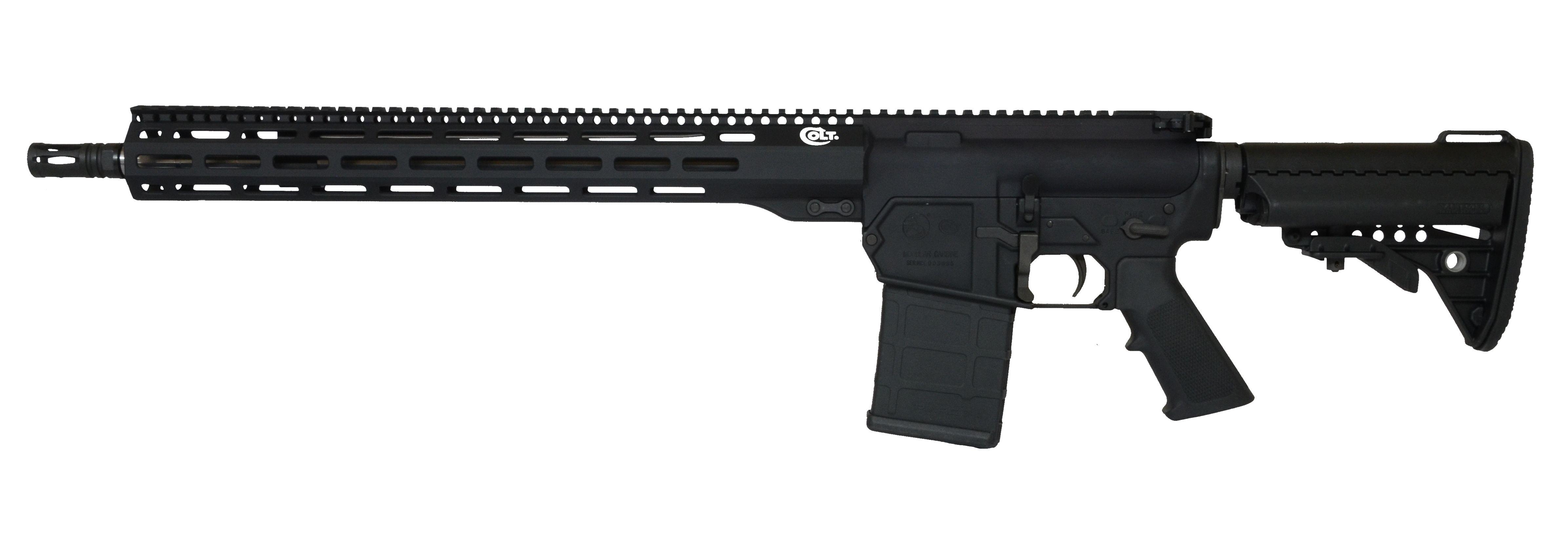 Colt CM762 6 5 Creedmoor Semi-Auto Rifle, 18″ Barrel, Matte Black Finish –  Colt CM65-18S - $1342 08 (Free S/H on Firearms)