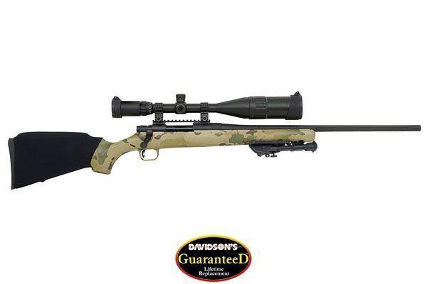 Mossberg 27204 ATR Night Train IV Rifle  308 Win 22in Fluted 4rd Multi Cam  6-24x60 Scope - $332 94 (Free S/H on Firearms)