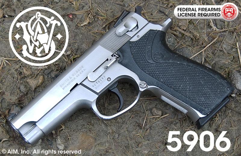 smith wesson model 5906 9mm handgun 299 95