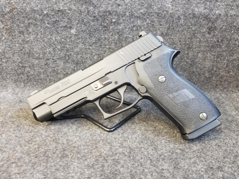 Sig Sauer SIG SAUER P220 DAK 45 ACP DAO POLICE TRADE IN Kings Firearms  Online - $449 99