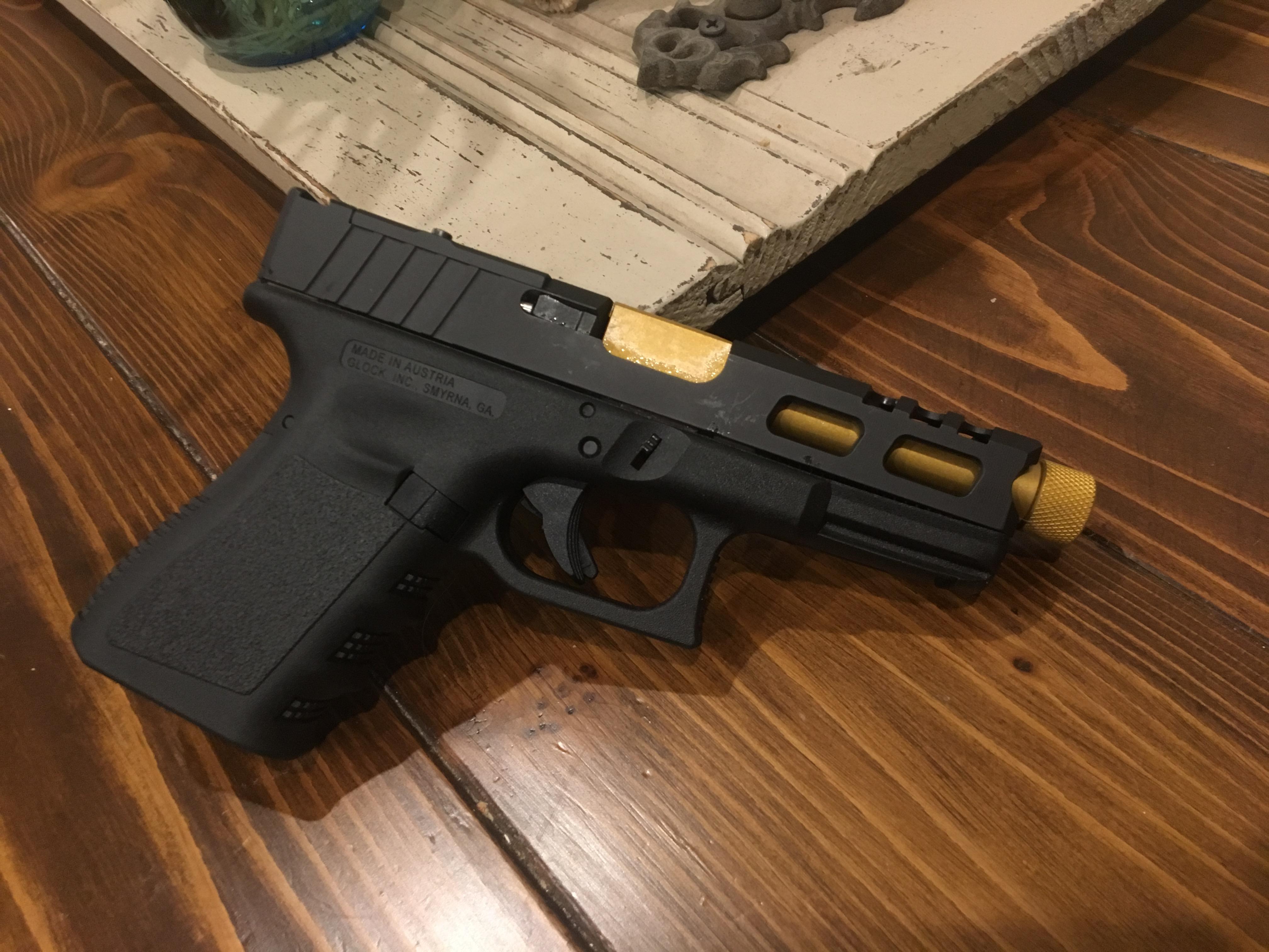 Custom Machined Glock Slides