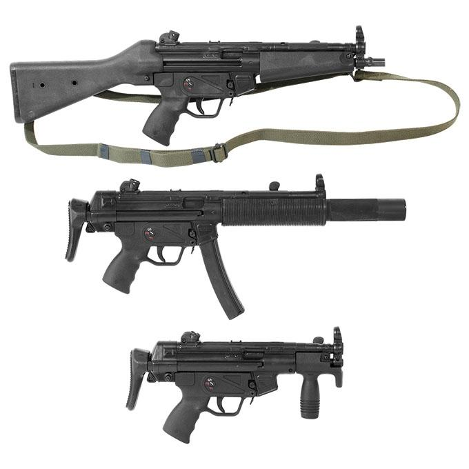 (3) Heckler & Koch 94/MP5K Set w/S&H Auto Sears - $150000 + Free Shipping