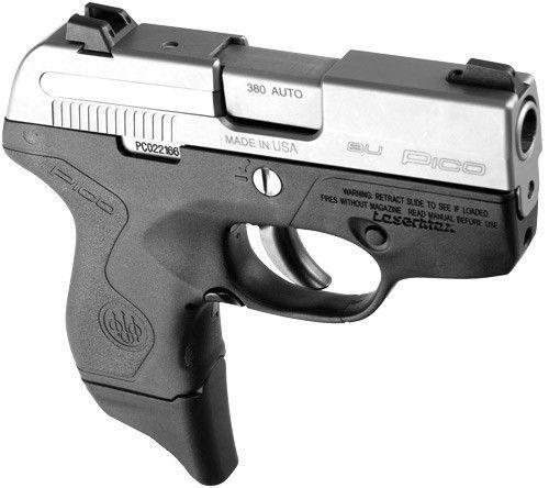 Beretta PICO 380 ACP INOX Lasermax Grip Light - $299.99 ...
