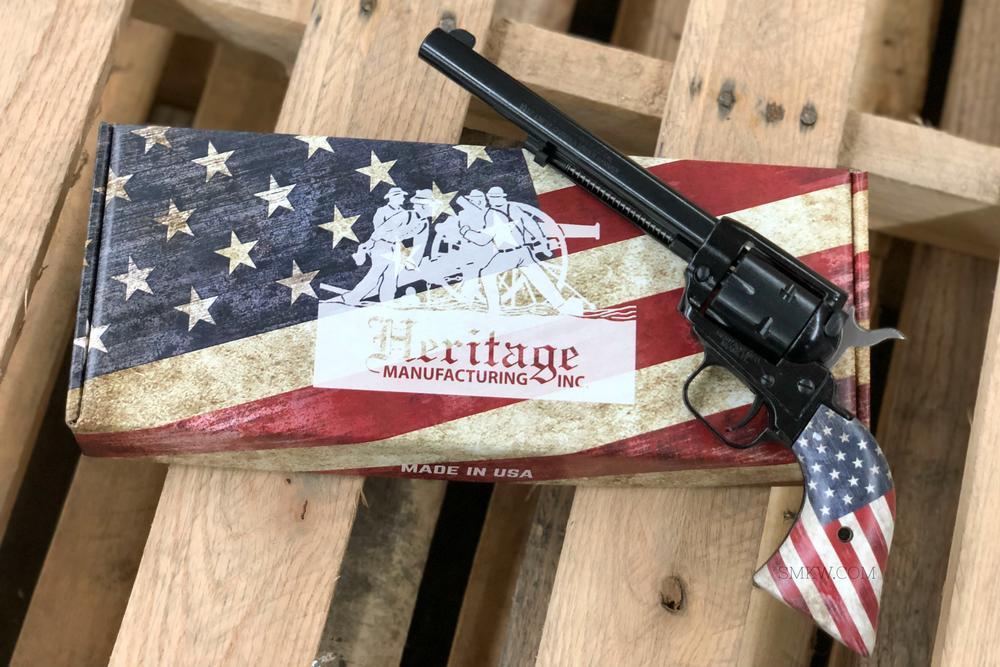 Heritage Mfg Rough Rider Revolver  22 LR 6 5