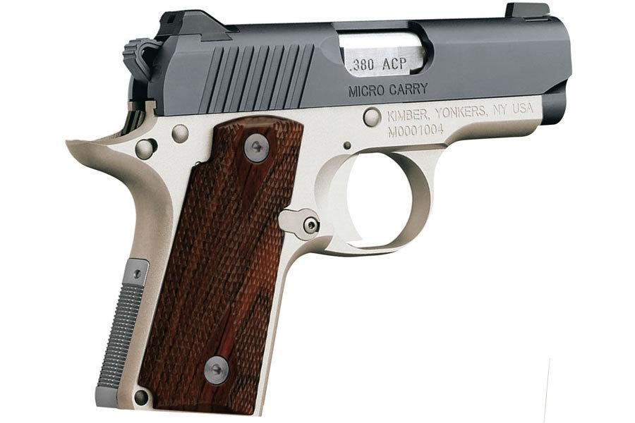 Pre-Black Friday Sale! - Kimber Micro Rosewood Two-tone 380 ACP 2 75