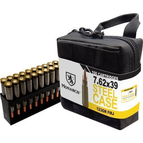 Monarch 7 62x39mm 123-Gr  FMJ 100 Rnds - $24 99 (Free S/H over $25)