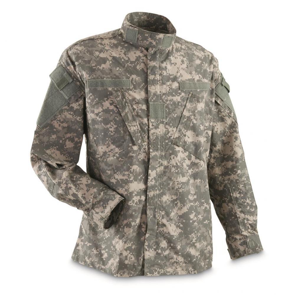 Us Army Surplus >> U S Army Surplus Bdu Jacket Like New Small 11 69 Gun Deals