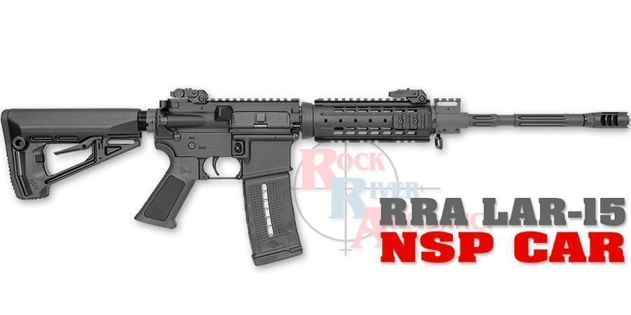 Rock River Arms LAR-15 5 56mm NSP CAR Semi-Automatic Rifle - $949 99 (Free  S/H on Firearms)