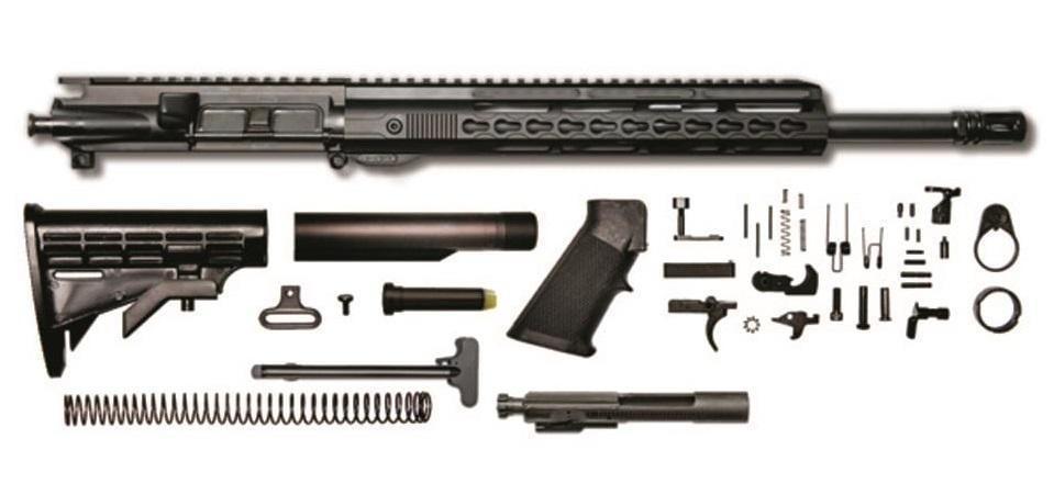 CBC AR-15 Rifle Kit, 5 56 NATO/ 223 Rem , 16