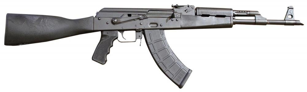 Red Army Standard RAS47 AK-47 Rifle, Black Polymer Furniture by