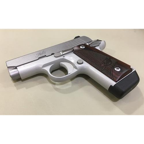 Kimber Micro 380 Stainless With Rosewood Grips and Free Desantis Holster -  $439 99 (Free S/H on Firearms)