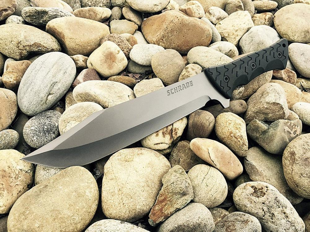Schrade SCHF45 Leroy Full Tang Bowie Fixed Blade Knife - $33 15 + Free  Shipping (Free S/H over $25)
