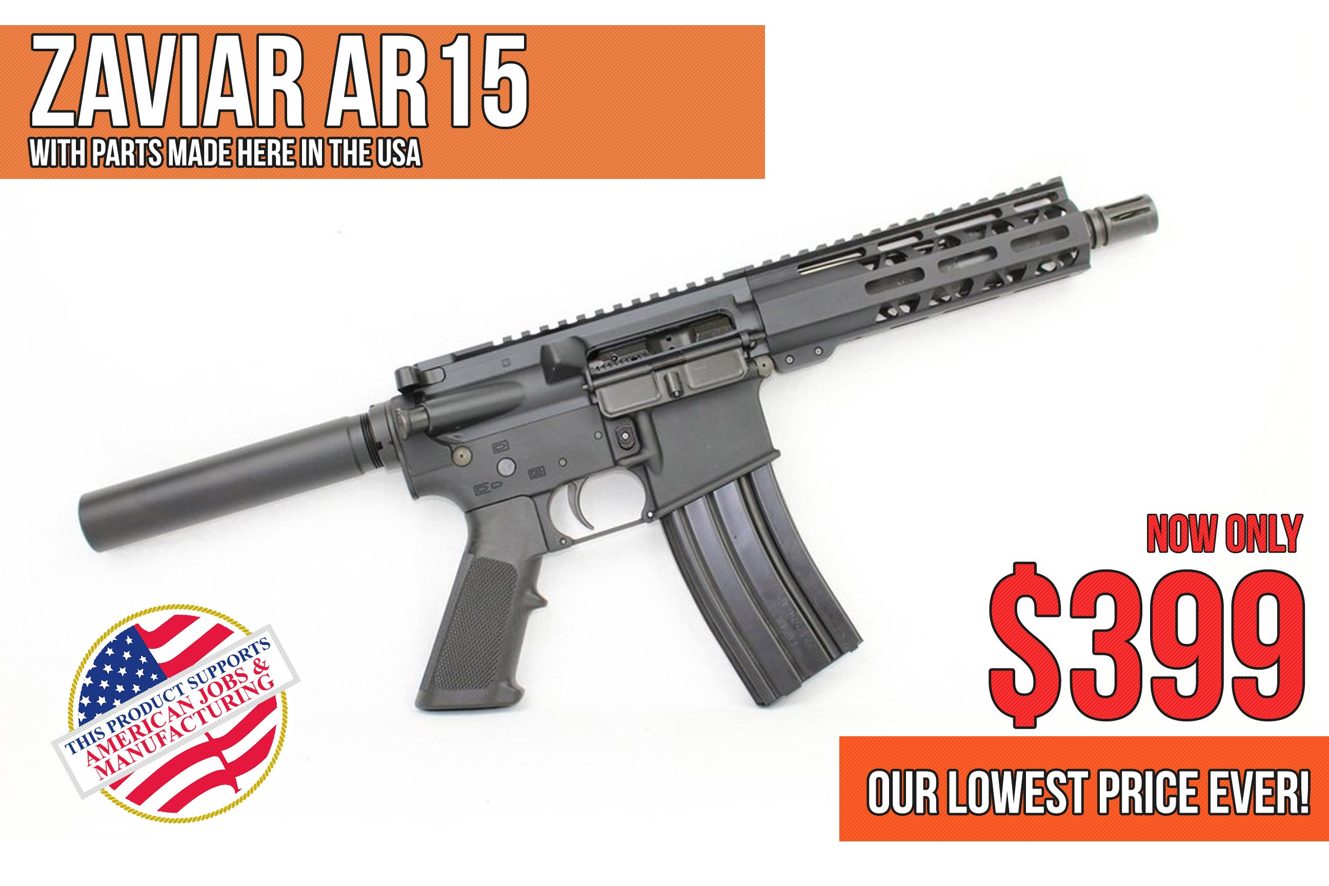 $399 Upgraded AR15! Venom Series 7 5